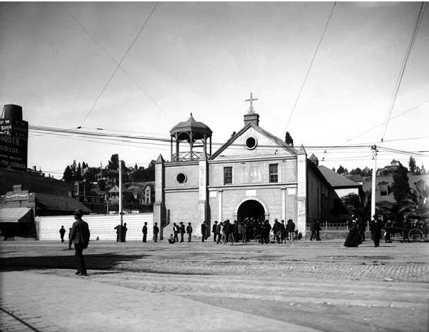 first catholic church of los angeles